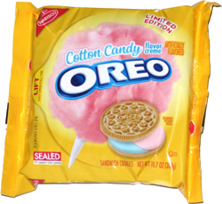 Image result for were cotton candy oreos real