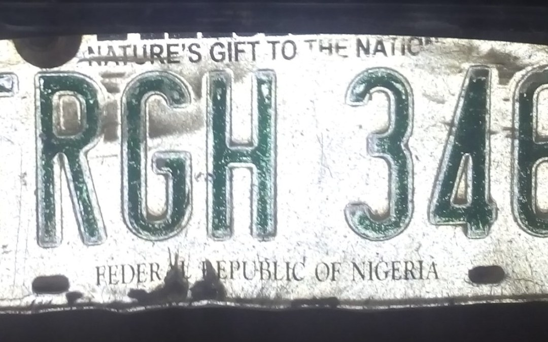 Warning: Indiscriminate Use of Government Number Plates in Taraba