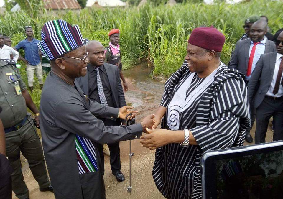 Governors of Both Taraba and Benue States Embark on Sensitization Tour Along affected Border Areas