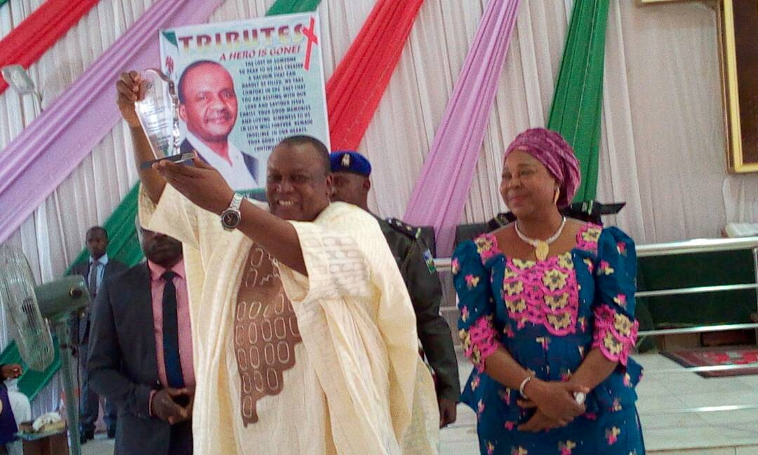 Gov. Ishaku Honoured by TEKAN/ECWA Women's Wing