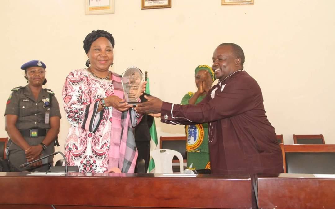 Barr. Anna Darius Ishaku Receives Meritorious Award of Excellence