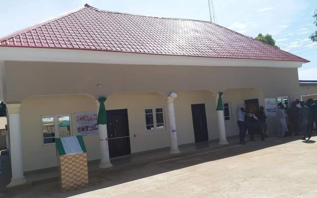 Gov. Ishaku Commissions Mararaba, Donga Magistrate Court