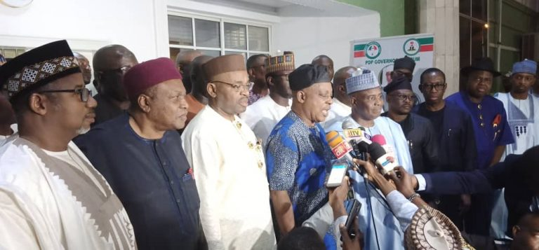 PDP Governors Forum: Gov. Ishaku, Other Northeast Governors Attends Meeting