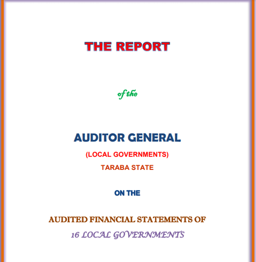 Report of Auditor-General: Audited Financial Statements of the 16 LGAs, 2018