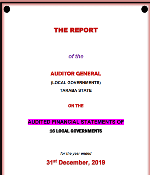 Report of Auditor-General: Audited Financial Statements of the 16 LGAs, 2019
