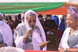Chairperson of the Forum, Dr. Aminat Bello, wife of the Niger State Governor.