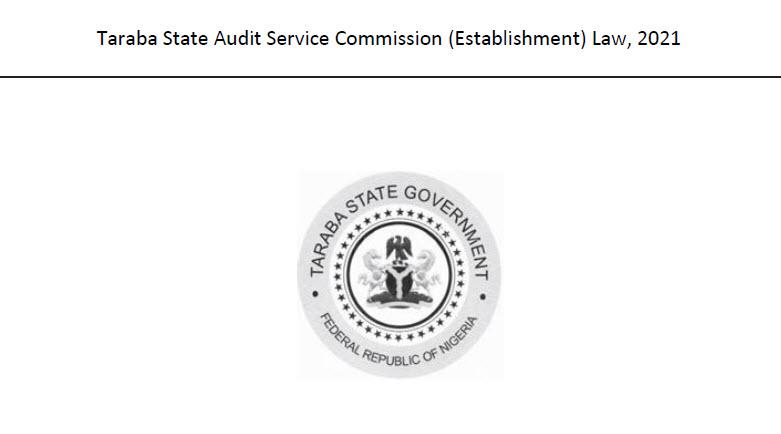 TARABA STATE AUDIT SERVICE COMMISSION  LAW 2021