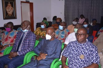 Some of the Members of the Association who visited the Governor.