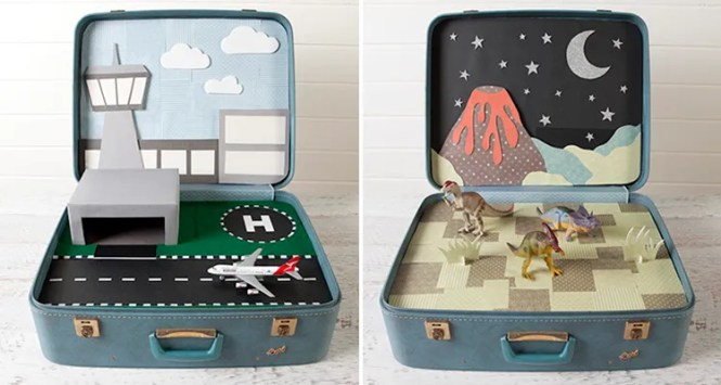 Kids Craft - Play suitcase - Tara Dennis