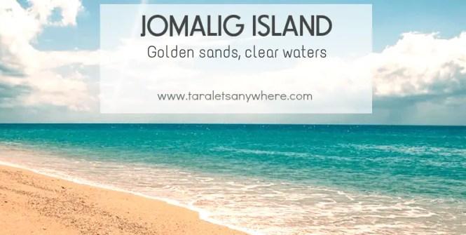 Golden sands in Jomalig island, Quezon