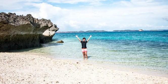 Pulong Dapa Island, part of Burias islands
