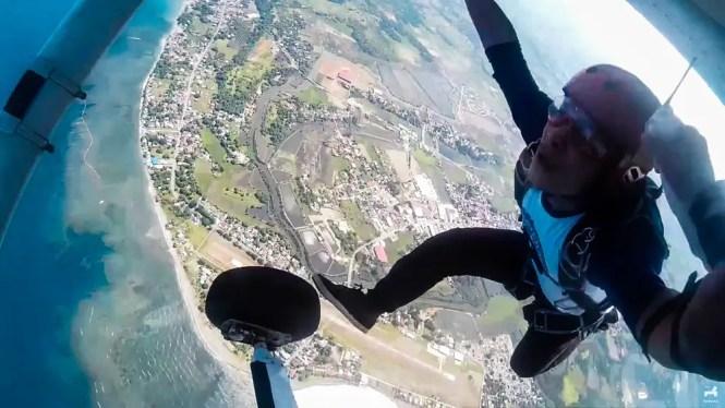 Skydiving in Iba, Zambales