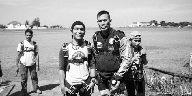 Divemaster in skydiving