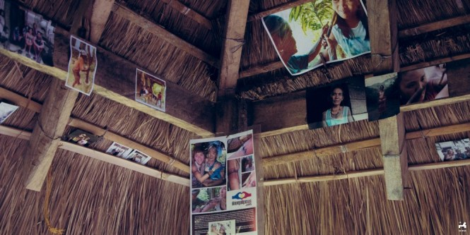 Souvenir photos of visitors of Apo Whang-od