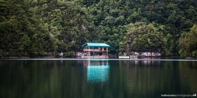Sugba Lagoon or Hidden lagoon in del Carmen, Siargao