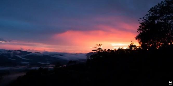 Sunset in Kalinga, Mountain Province
