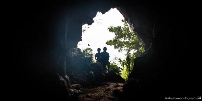 Bakwitan cave in Gigantes islands