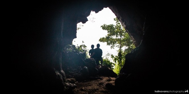 Bakwitan cave in Gigantes islands