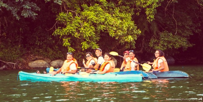 Kayaking in Bulusan Lake, Sorsogon