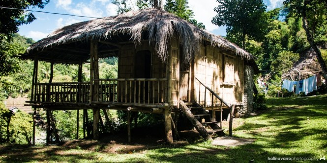 Kayak Inn native hut