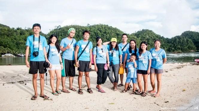 Alon ng Pag-asa volunteers in Siargao