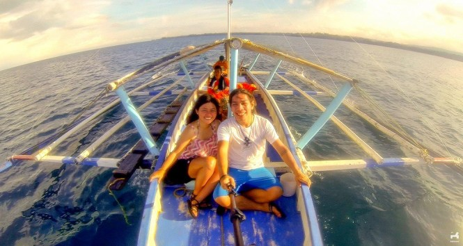 Island hopping in Guimaras