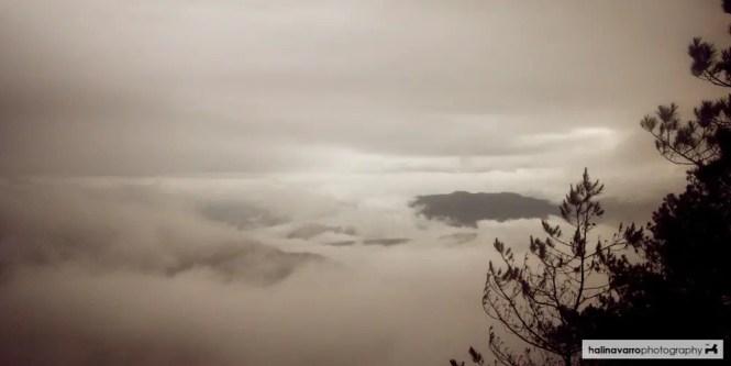 Kiltepan foggy morning