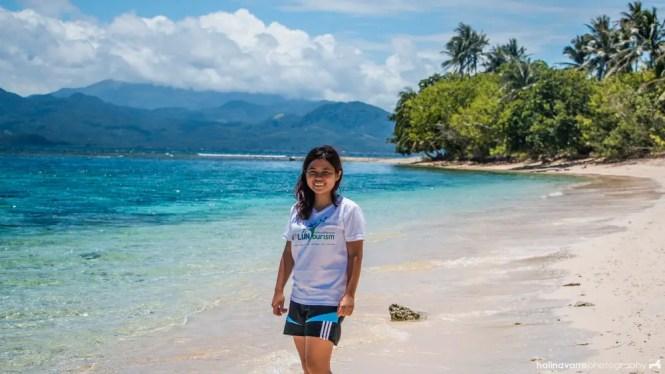 Tikling Island in Sorsogon