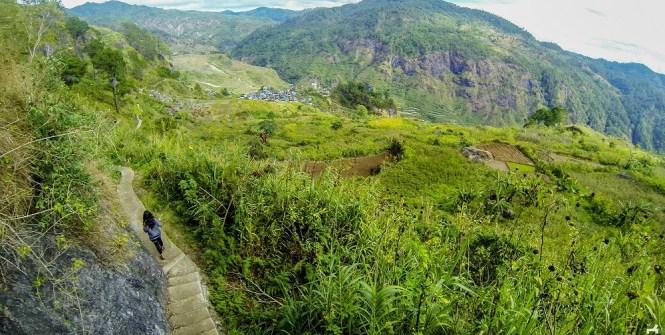 Trail to Bomod-ok Falls in Sagada