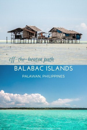 Guide to island hopping in Balabac, Palawan in the Philippines. Including Onuk Island, Candaraman Island, etc. | Guide to Balabac Palawan | Balabac islands in Palawan