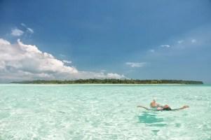 Candaraman Island in Balabac, Palawan