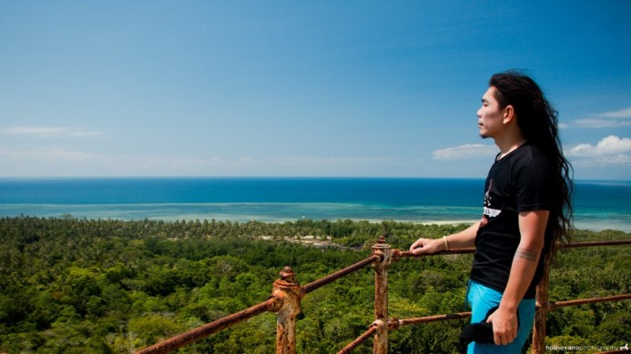 Top of Melville Lighthouse in Balabac, Palawan