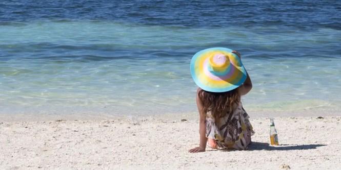Kalanggaman Island beach