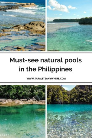 Natural pools in the Philippines pinterest