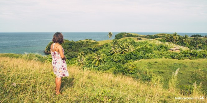 Cagnipa rolling hills in Catanduanes