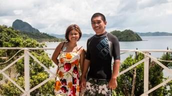 Paradise viewdeck in El Nido, Palawan