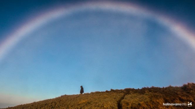 A rainbow in Mount Pulag
