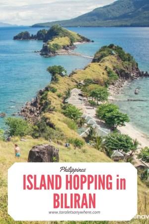 Island hopping in Biliran (Philippines) | Sambawan Island