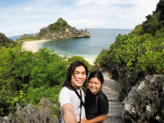 Overlooking view in Target Island, Bulalacao