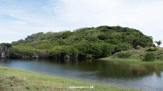 Lake in Target Island, Bulalacao