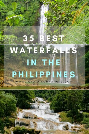 Best waterfalls in the Philippines | beautiful waterfalls in the Philippines
