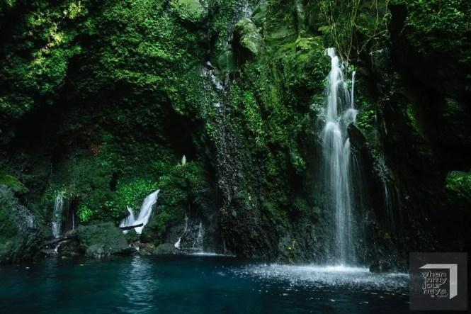 Bukal Falls or Kilangin Falls in Laguna