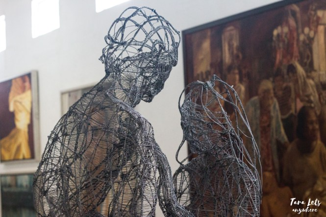 Pinto Art Museum wired sculpture lovers