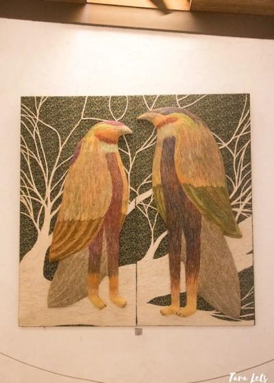 Pinto Art Museum birdmen