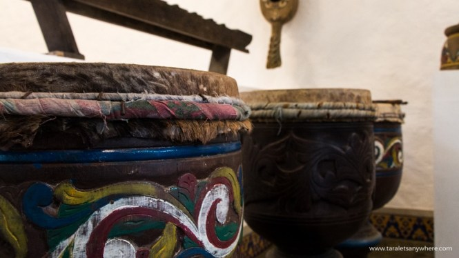 Pinto Art Museum local drums