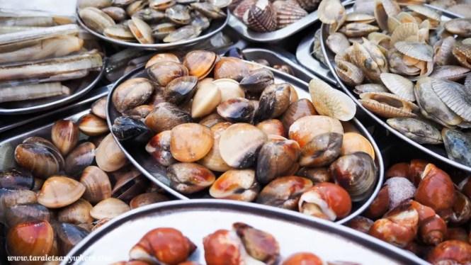 Fresh seafood in Koh Lipe