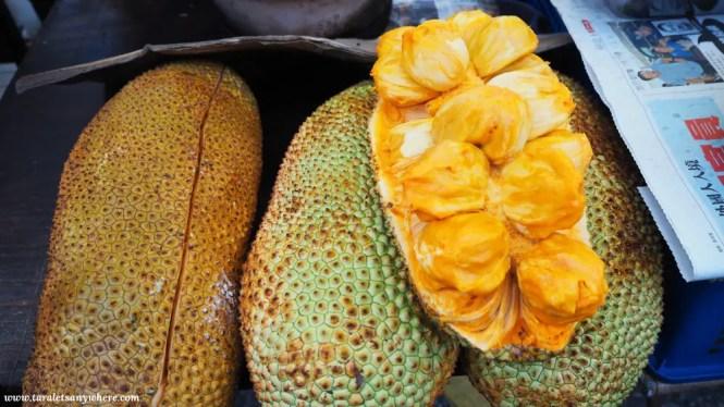 Taman Connaught pasar malam jackfruit