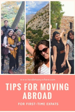 Tips for moving abroad for the first time | Tips for expats