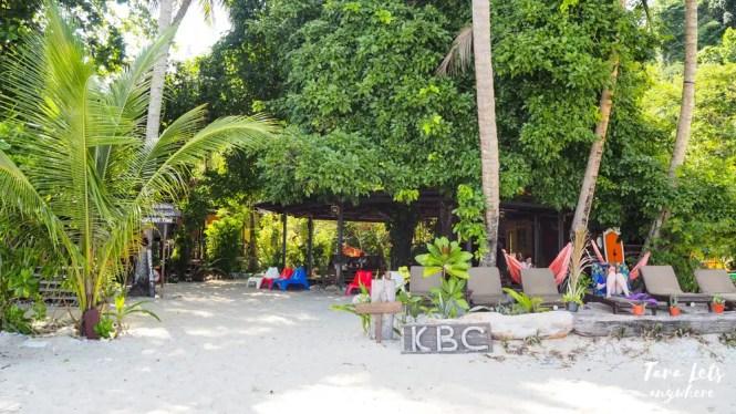 Kapas Beach Chalet or KBC, Kapas Island, Malaysia
