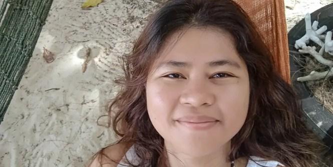 Katherine in Kapas Island